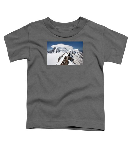 Mont Blanc And Ufo Toddler T-Shirt