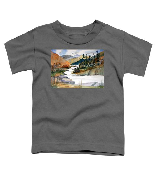 Montana Canyon Toddler T-Shirt