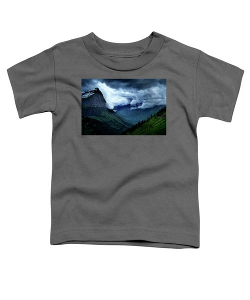 Montana Mountain Vista Toddler T-Shirt