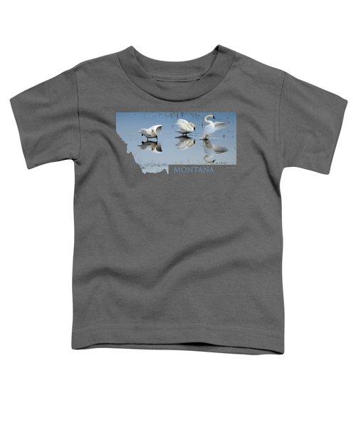Montana- Swan Ballet Toddler T-Shirt