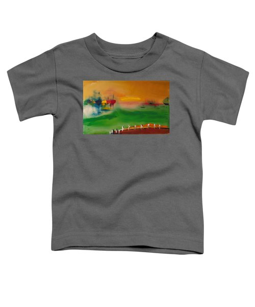 Montauk Marina Toddler T-Shirt