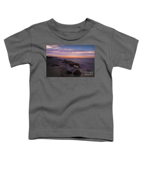 Montauk Sunset Boulders Toddler T-Shirt
