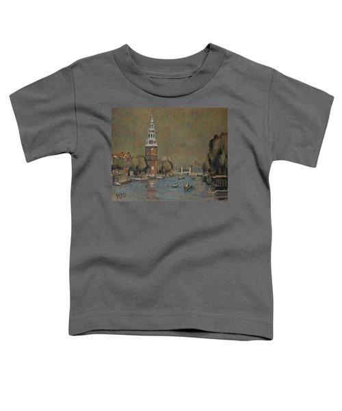Montelbaanstoren Amsterdam Toddler T-Shirt
