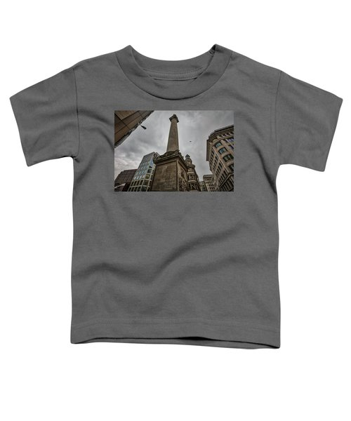 Monument To The Great Fire Of London Toddler T-Shirt