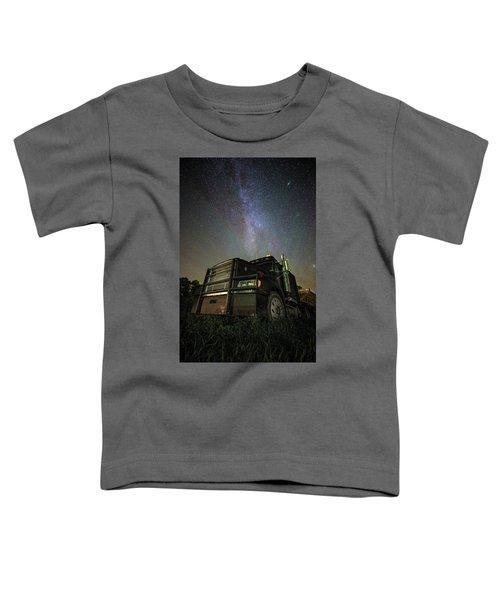 Moody Trucking Toddler T-Shirt