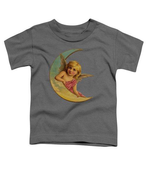 Moon Angel T Shirt Design Toddler T-Shirt by Bellesouth Studio