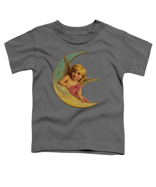 Moon Angel T Shirt Design Toddler T-Shirt
