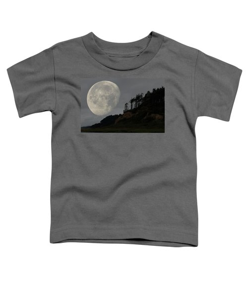 Moon At Roosevelt Beach Wa Toddler T-Shirt