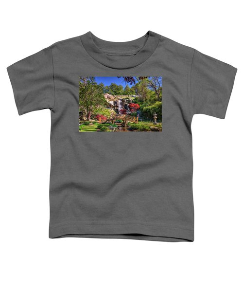 Moon Bridge And Maymont Falls Toddler T-Shirt