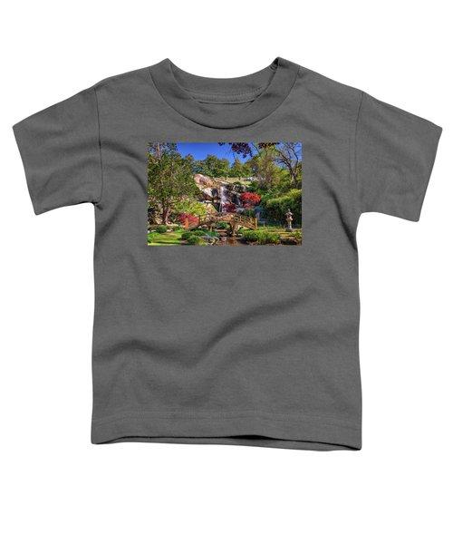 Moon Bridge And Maymont Falls Toddler T-Shirt
