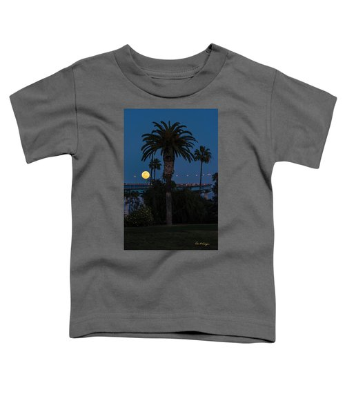 Moon On The Rise Toddler T-Shirt