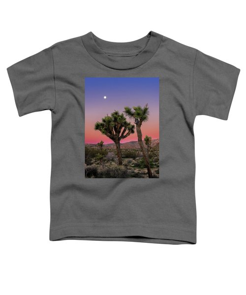 Moon Over Joshua Tree Toddler T-Shirt