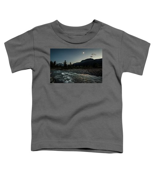 Moon Over Montana Toddler T-Shirt