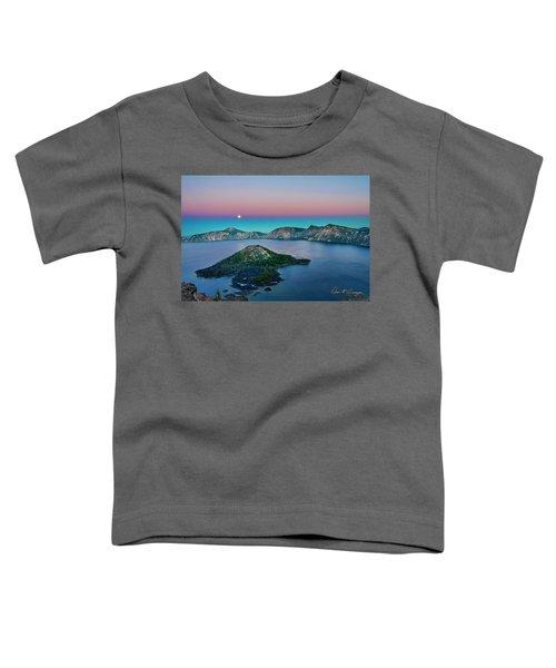 Moon Over Wizard Island Toddler T-Shirt