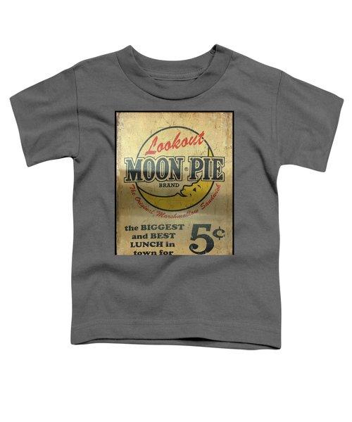 Moon Pie Antique Sign Toddler T-Shirt