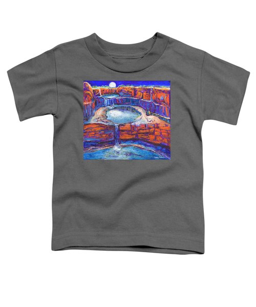 Moon Rising Over The Mitchell Falls Toddler T-Shirt