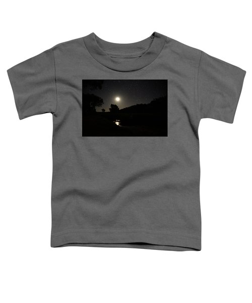 Moon Set Over Palm Valley 2 Toddler T-Shirt
