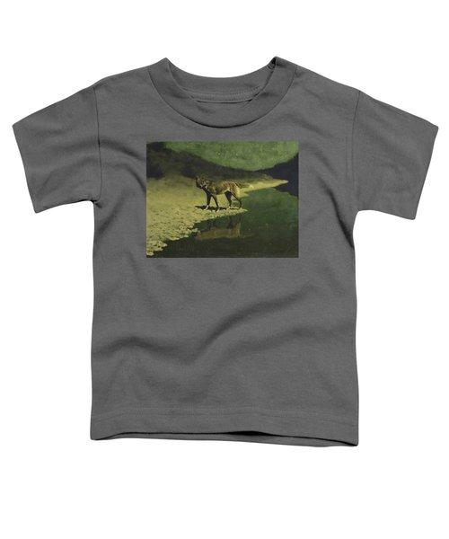 Moonlight, Wolf Toddler T-Shirt