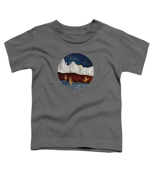 Moonlit Desert Toddler T-Shirt