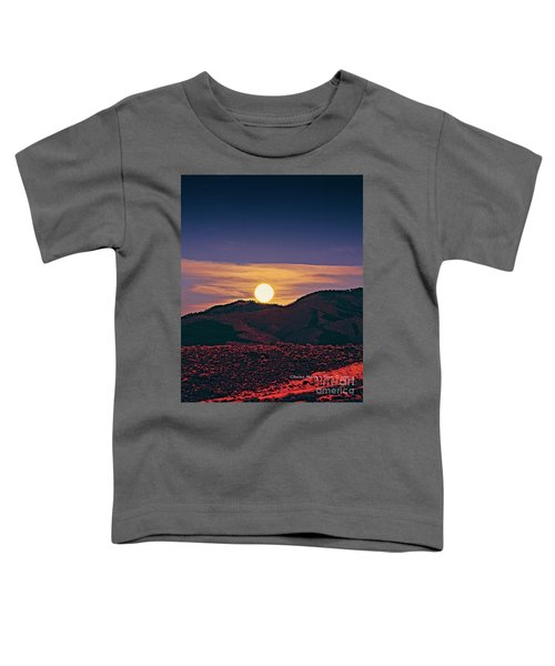 Moonrise In Northern New Mexico  Toddler T-Shirt