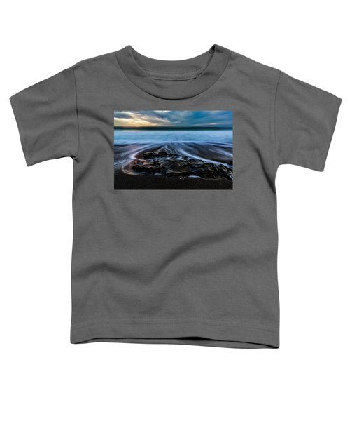 Moonstone Beach In The New Year Toddler T-Shirt