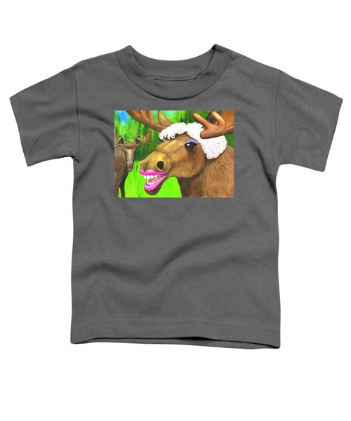 Moose Lips Toddler T-Shirt