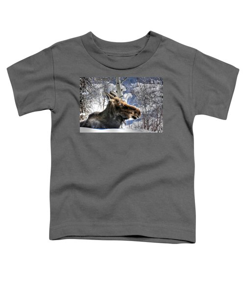 Moose On The Loose Toddler T-Shirt