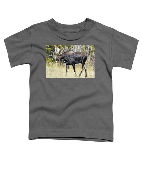Moose On The Move Toddler T-Shirt