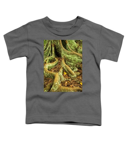 Toddler T-Shirt featuring the photograph Moreton Bay Fig by Werner Padarin