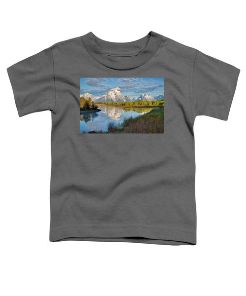 Morning At Oxbow Bend Toddler T-Shirt
