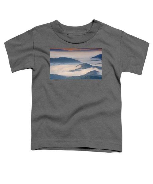 Morning Cloud Colors Toddler T-Shirt