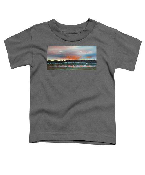Morning Fog Silver Star  Toddler T-Shirt