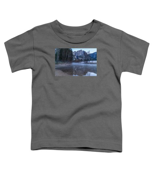 Morning Fog Yosemite Falls Toddler T-Shirt