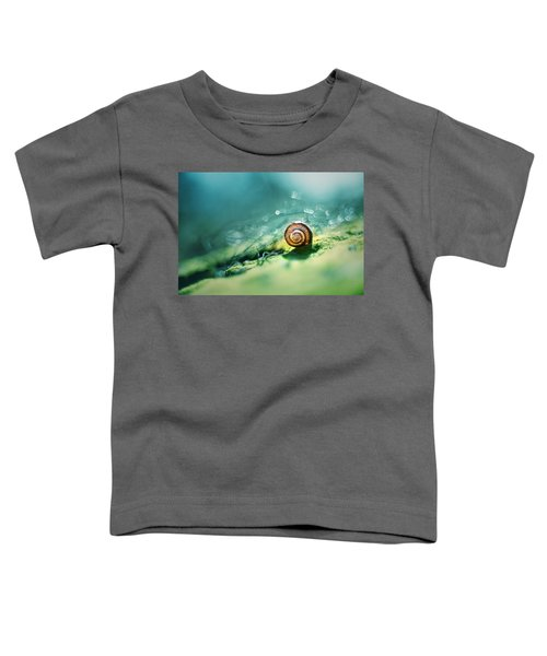 Toddler T-Shirt featuring the photograph Morning Glare by Jaroslaw Blaminsky