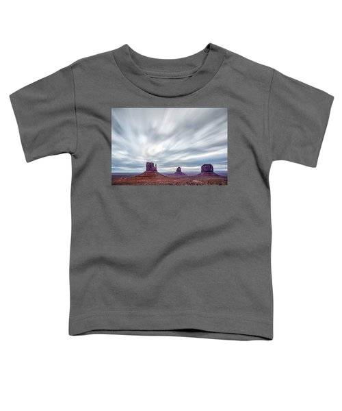 Morning In Monument Valley Toddler T-Shirt