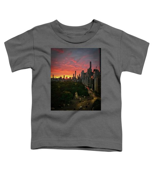 Morning In The City Toddler T-Shirt