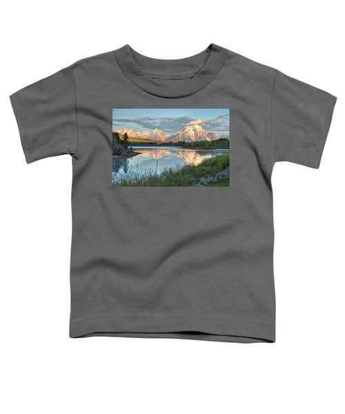 Morning Light At Oxbow Bend Toddler T-Shirt