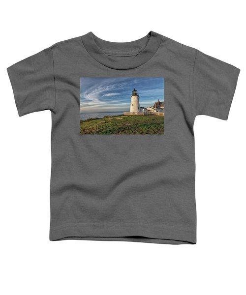 Morning Light At Pemaquid Point Toddler T-Shirt