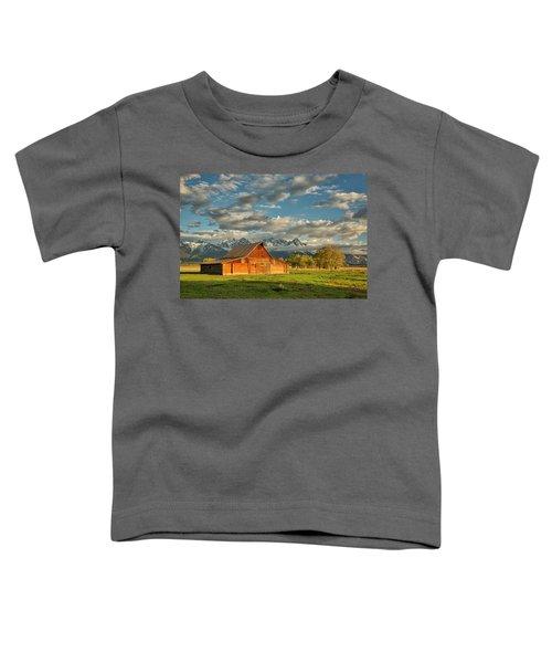 Morning Light On Moulton Barn #2 Toddler T-Shirt