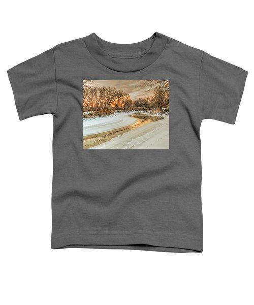 Morning Light On The Riverbank Toddler T-Shirt