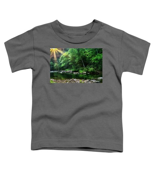 Morning Light On Williams River  Toddler T-Shirt