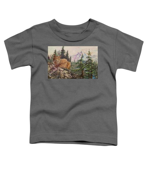 Morning Lynx Toddler T-Shirt