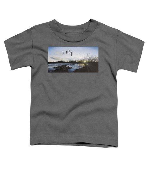 Morning Retreat - Pintails Toddler T-Shirt