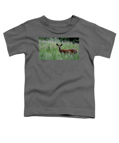 Morninng Deer Toddler T-Shirt