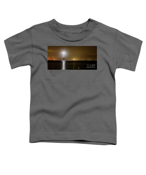 Morris Island Light House 140 Year Anniversary Lighting Toddler T-Shirt