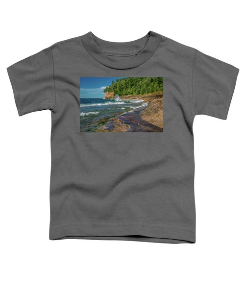 Mosquito Harbor Waves  Toddler T-Shirt