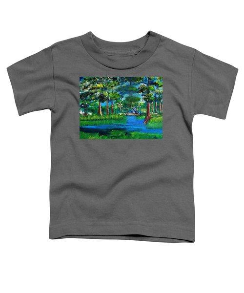Moss Picker Impression Digital Toddler T-Shirt