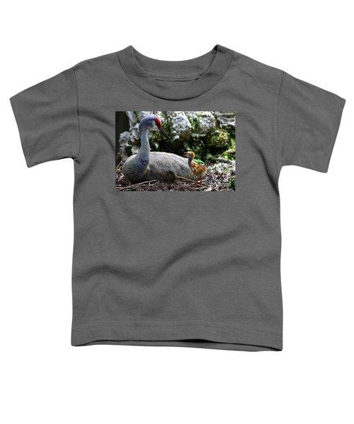 Mother Listening Toddler T-Shirt