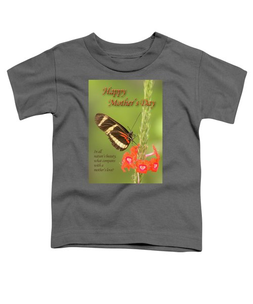 Mother's Day-butterfly Toddler T-Shirt