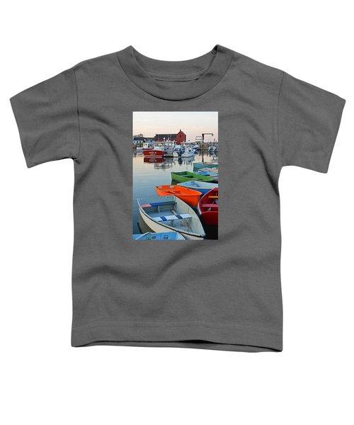 Motif #1 Rockport Ma Toddler T-Shirt
